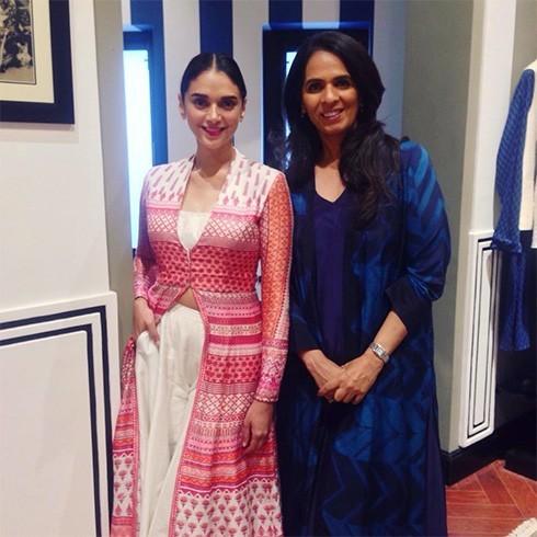 Aditi Rao Hydari and Anita Dongre