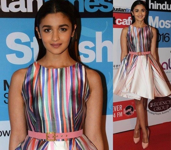 Alia Bhatt at HT Most Stylish Awards 2016