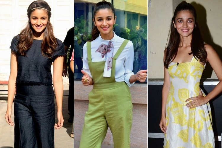 Alia Bhatt at Kapoor and Sons Promotions