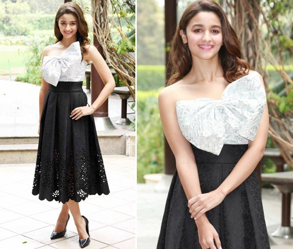 Alia Bhatt Birthday Dress