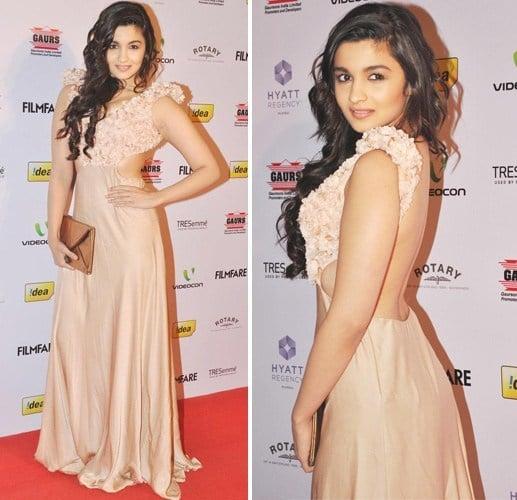 Alia Bhatt in Sonaakshi Raaj dress