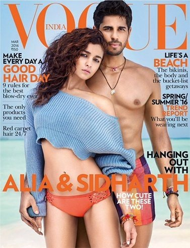 Alia Bhatt on Vogue, March 2016