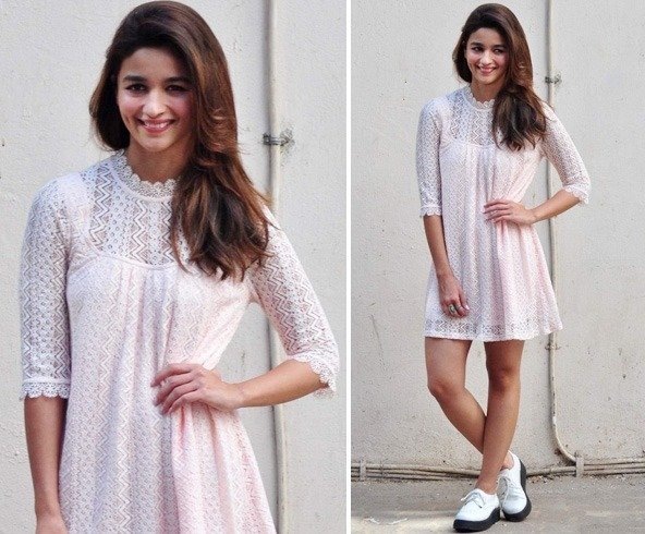 Alia In A Short Dress