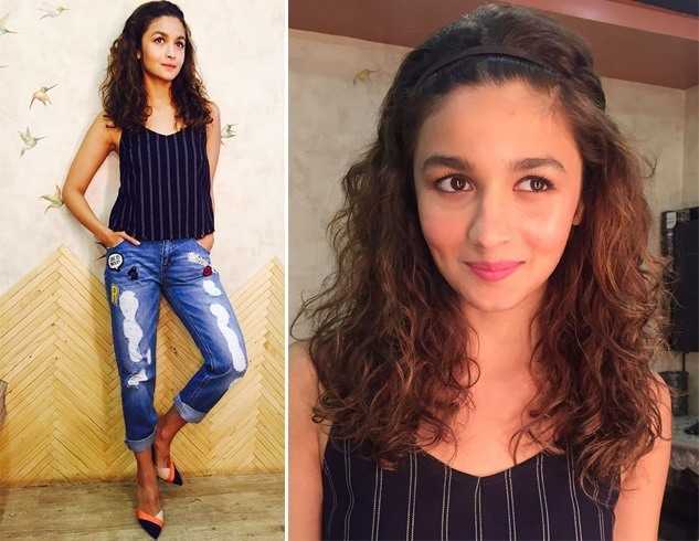 Alia In Distressed Denims