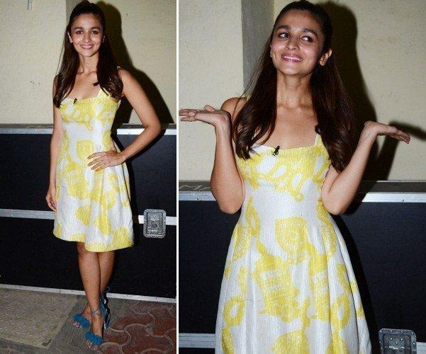 Alia in Prabal Gurung dress