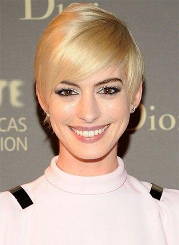Anne Hathaway Blonde Hair