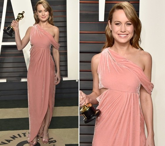 Brie Larson at Vanity Fair Oscars Party 2016