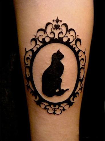 Go wild and crazy with these animal tattoos for Cat lady tattoo