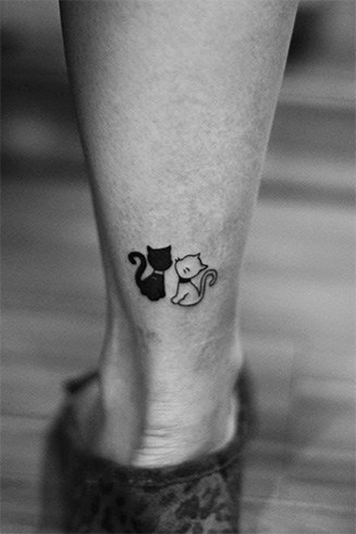 Cat tattoos pictures