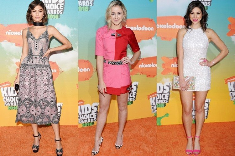 Celebs at Kids Choice Awards 2016