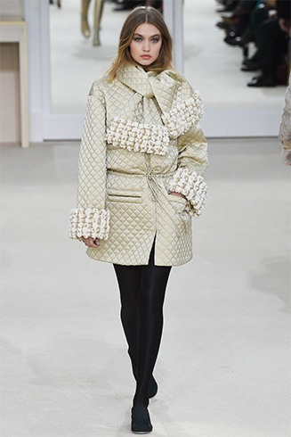 Chanel designs at Paris Fashion Week 2016