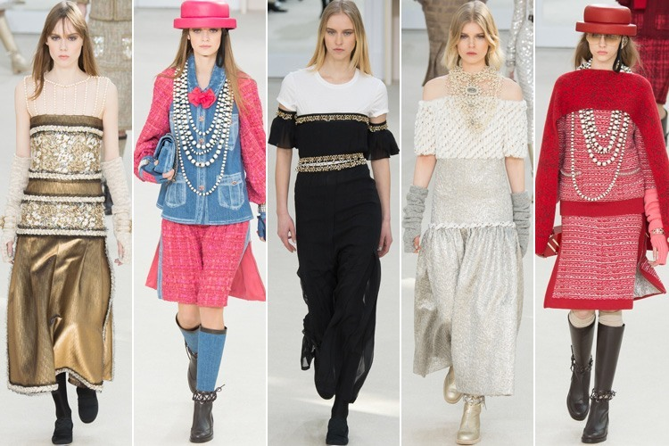 Chanel outfits at Paris Fashion Week 2016