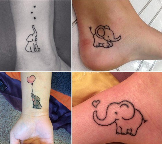 Go wild and crazy with these animal tattoos for Baby s first tattoo book