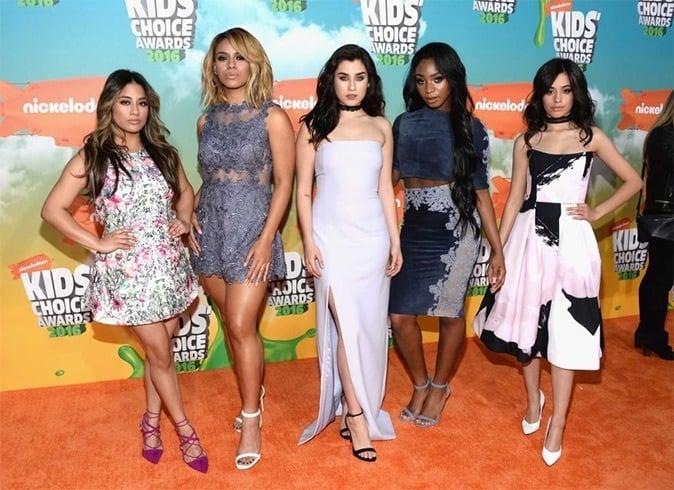 Fifth Harmony at Kids Choice Awards 2016