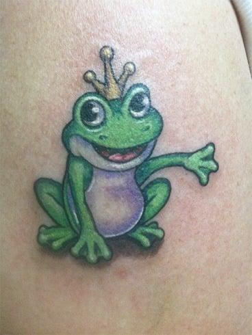 Frog prince tattoo