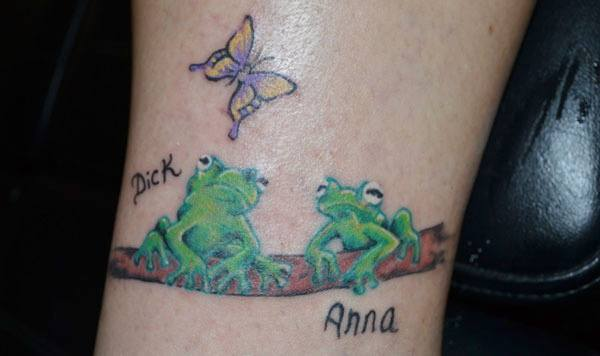 Frog Tattoos On Wrist