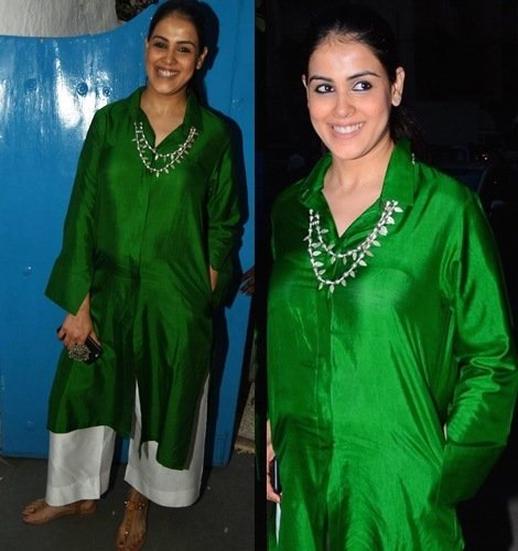 Genelia Deshmukh In Payal Khandwala