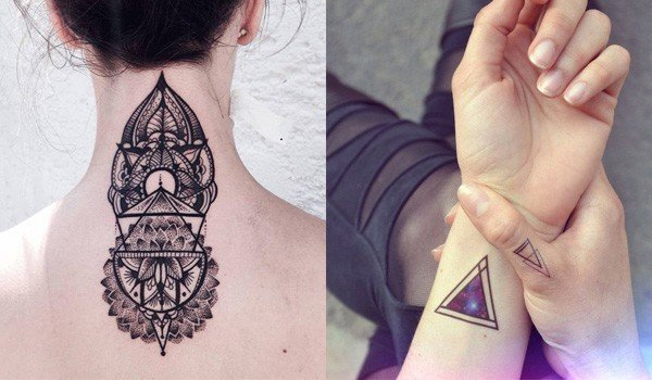 25 Trendy Geometric Tattoo Designs For The Creative You