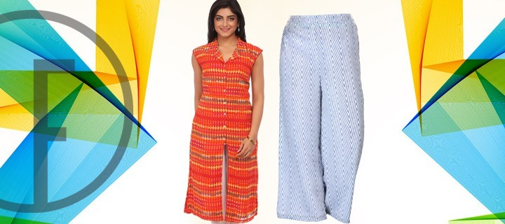 Go Cool And Carefree In Palazzo Pants