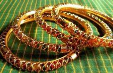 Golden Jaali Bangles