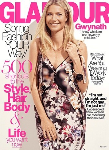 Gwyneth Paltrow On Glamour