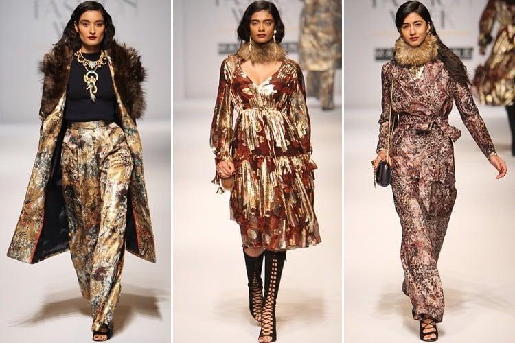 Hemant Nandita at Amazon India Fashion Week 2016