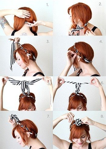 How To Do Retro Hairstyle