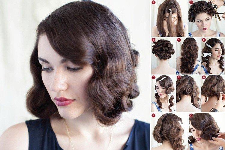 How To Do Vintage Retro Hairstyle