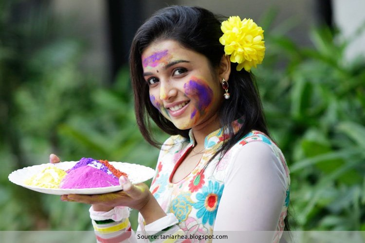 How To Remove Holi Colours