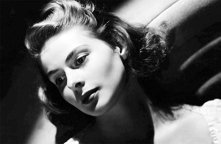 Ingrid Bergman makeup