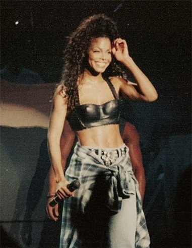 Janet Jackson outfits