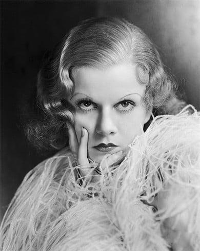 Jean Harlow makeup