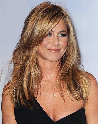 25 popular jennifer aniston hairstyles. Black Bedroom Furniture Sets. Home Design Ideas