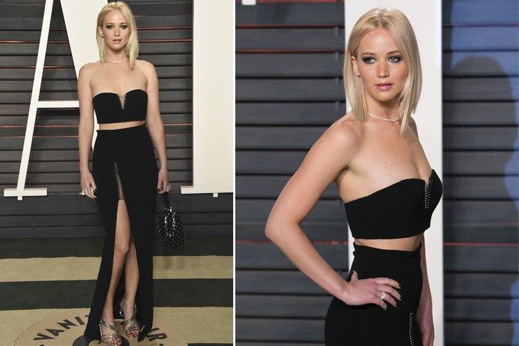 Jennifer Lawrence at Oscar party night 2016