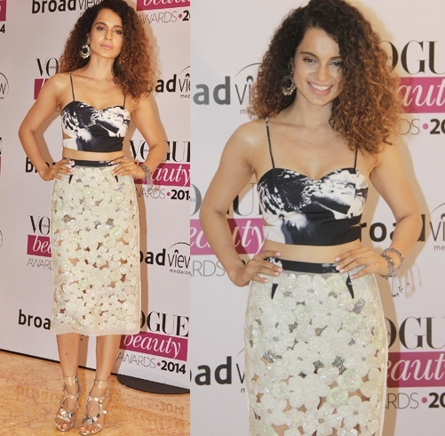 Kangana Ranaut at Vogue Beauty Awards 2014