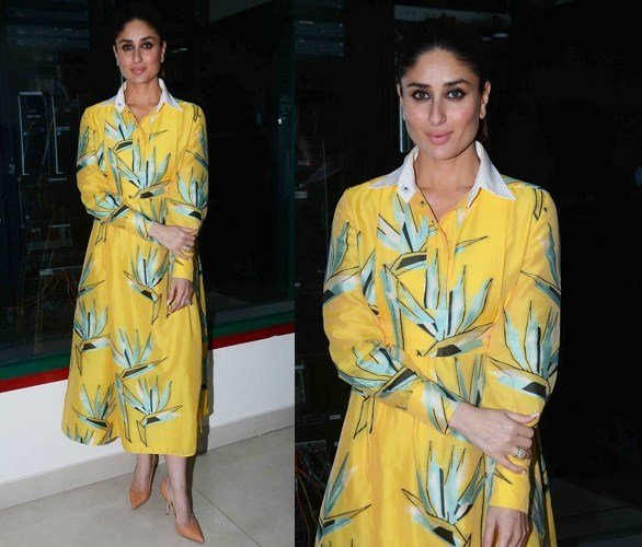 Kareena in Fendi Shirt Dress