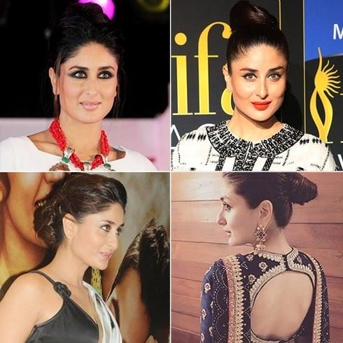 Kareena Kapoor hair bun