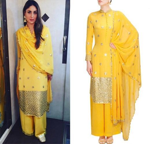 Kareen Kapoor in Anushka Khanna suit