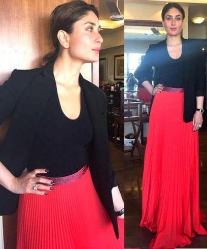 Kareena Kapoor In Christopher Kane Skirt