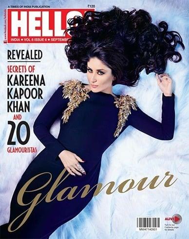 Kareena on Hello magazine cover
