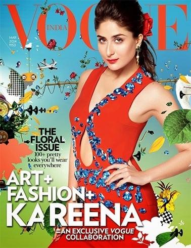 Kareena On Vogue March 2014