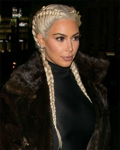 Kim Kardashian Hairstyle Trend