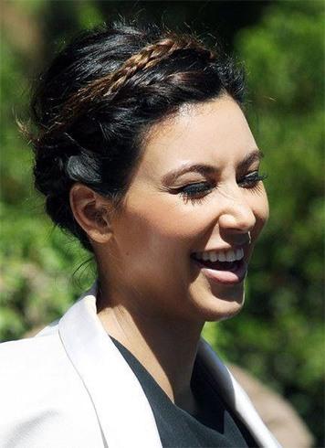 Kim Kardashian Latest Hairstyle