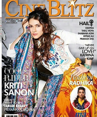 Kriti Sanon On Cine Blitz