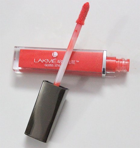Lakme Absolute Stylist Gloss in Coral Sunset