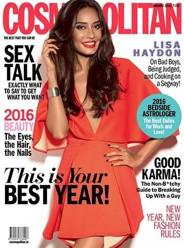 Lisa Haydon On The Magazine Cover