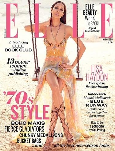 Lisa Haydon on Elle