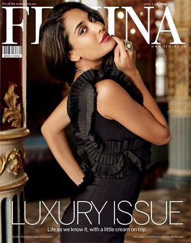 Lisa Haydon on Femina cover