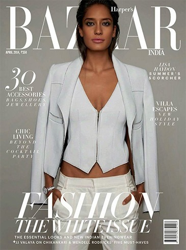 Lisa Haydon on Hapers Bazaar