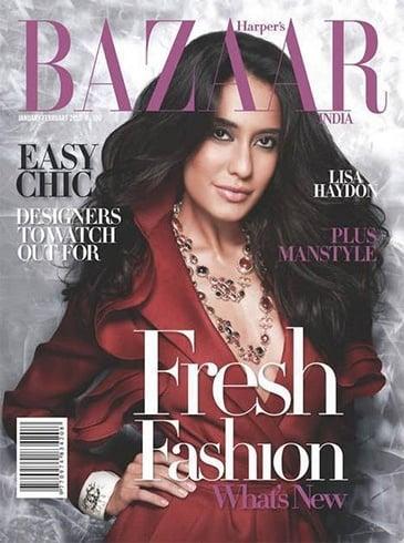 Lisa Haydon on magazine cover
